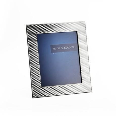 Royal Selangor Hand Finished Mirage Collection Pewter Cube Photo Frame (8R) by Royal Selangor