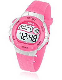 Kids Digital Watch, Girls Boys 50M(5ATM) Waterproof...