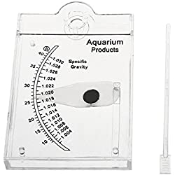 Ray-JrMALL Sea Hydrometer Saltwater Test Meter for Fish Tank Water Salinity Specific Gravity Test
