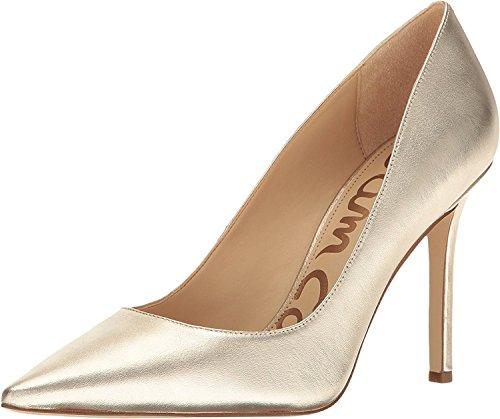 Sam Edelman Women's Hazel Jute Soft Metallic Sheep Leather Shoe (Leather Footwear Soft Gold)