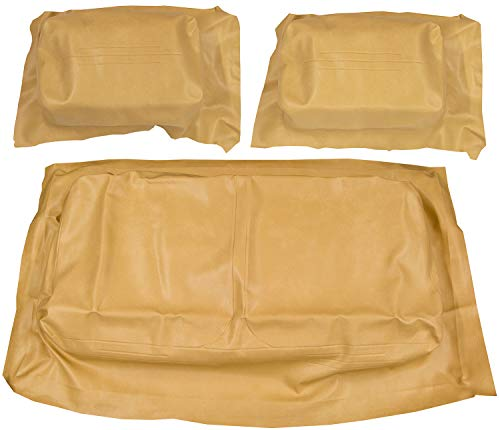 Golf Cart EZGO Marathon Front Seat Covers - OEM Match - Tan - Complete Set