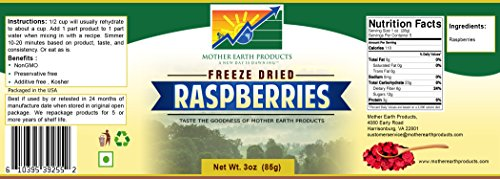 List of the Top 10 freeze dried raspberries bulk you can buy in 2019
