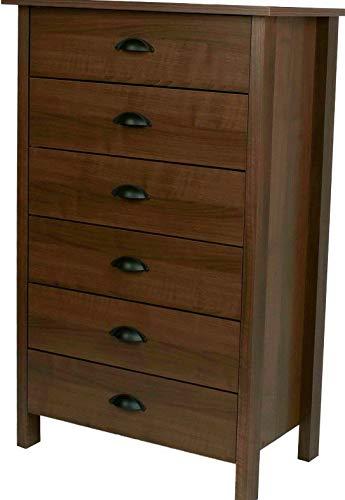 Hebel Nouvelle 6 Drawer Dresser Chest - 5 Colors New   Model DRSSR - 439   ()