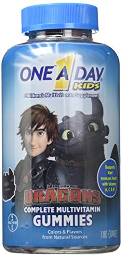 One A day Kids How to Train Your Dragon, 180ct (Batman Expired)