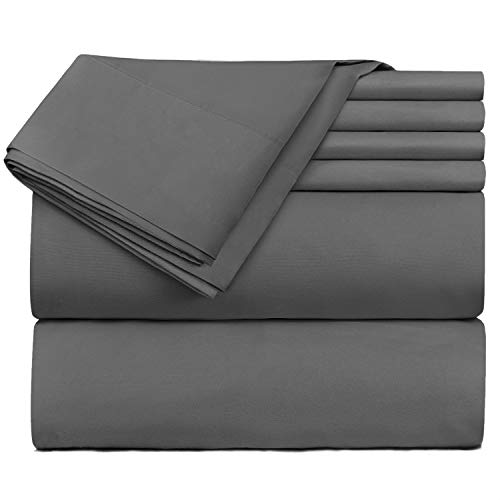 Nestl Bedding Extra Deep Pocket Sheets - Super Deep Fitted Sheet 18