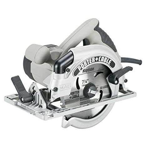 Porter cable 424mag 15 amp 7 14 inch circular saw with blade left porter cable 424mag 15 amp 7 14 inch circular saw with greentooth Images