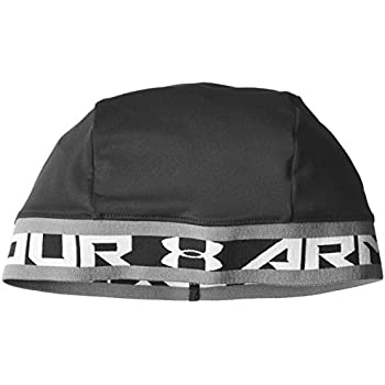 Under Armour Men's Original Skull Wrap, Black (001)/White, One Size Fits All