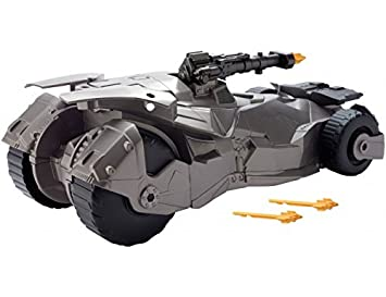 La Liga de la Justícia - Batmóvil con lanzamisiles (Mattel FGG58)