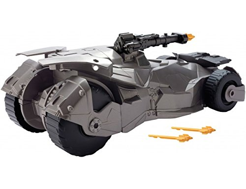 Mattel DC Justice League Mega Cannon Batmobile Vehicle, 6""