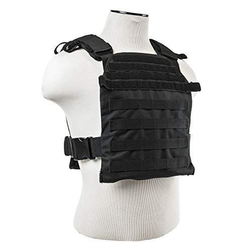 """WarTechGears Tactical Fast Vest 10""""X12"""" MOLLE and PALS Fully Adjustable"""