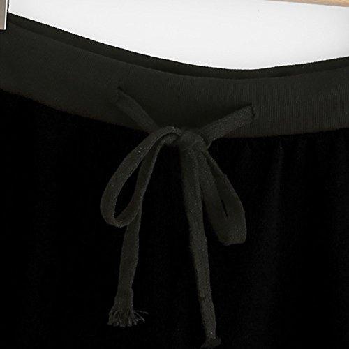 Crop Vestiti Ragazze Donna Canotte Abbigliamento Canotta Estate Tunica Tops Donne Elegante Tank Nero Shirts Camicette Casual Magliette Imposta T Felpa LEvifun Tops Sports Donna 48nwB4x