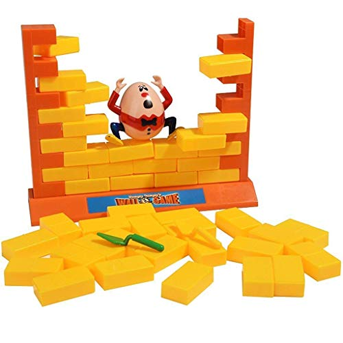 WHYQZ Humpty Dumpty Wall Game - Tearing Down Brick Demolition - 3D Fun Game - Ideal for Birthday Gifts Party Games by WHYQZ