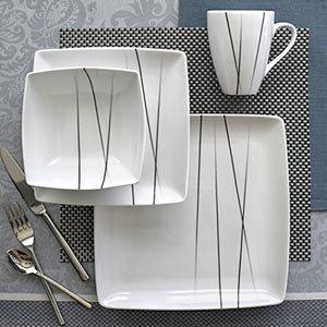 Image Unavailable & Amazon.com | Over u0026 Back Central Park 16-piece Dinnerware Set ...