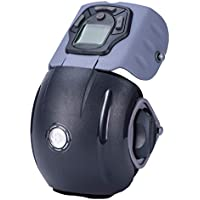 JSB Hf124 Professional Knee Massager For Pain Relief With Vibration & Heat For Unisex (Grey Black)