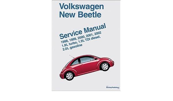 Volkswagen New Beetle Service Manual: 1.8l Turbo, 1.9l TDI ... on