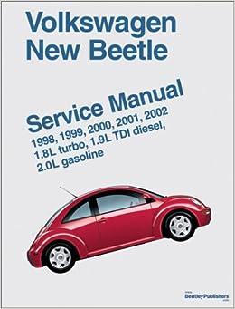 volkswagen new beetle service manual 1998 1999 2000. Black Bedroom Furniture Sets. Home Design Ideas