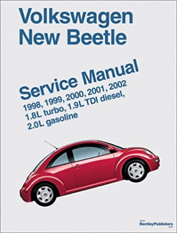 volkswagen new beetle service manual 1998 1999 2000 2001 2002 rh amazon com 2006 vw beetle owners manual pdf 2006 vw beetle repair manual pdf
