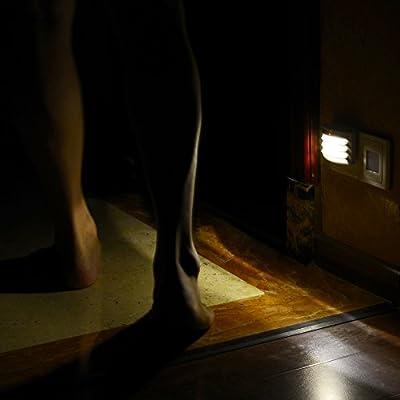 Emotionlite Plug in LED Night Light with Dusk to Dawn Sensor Warm White 2700K