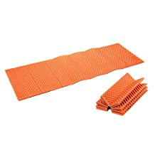 Luckycyc Foam Camping Mat Portable Waterproof Dampproof Mattress Folding Tent Sleeping Pad