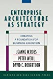 img - for Enterprise Architecture As Strategy: Creating a Foundation for Business Execution book / textbook / text book