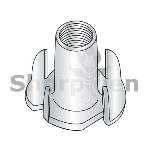 SHORPIOEN 4 Prong Tee Nut Zinc 3/8-16 x 5/16 BC-3705NT4 (Box of 1000) by Shorpioen LLC