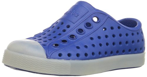 Native Jefferson Slip-On Sneaker,Victoria Blue Glow,11 M US