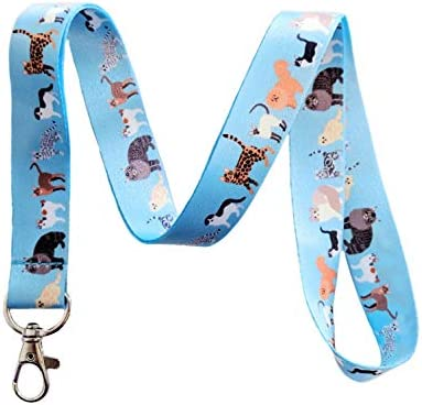 Cat Parade Schlüsselband Schlüsselband ID Badge Halter