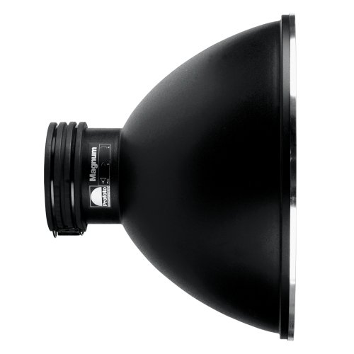 Profoto 505-504 Magnum Reflector (Black/Silver) by Profoto