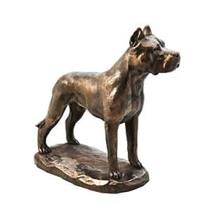 Amazon.com: Dogo Argentino, Estatua de perro figura en la ...