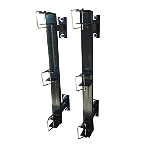 Enclosed Landscaping Trimmer Rack for Edgers, Pole Saws, and Tree Trimmers - 3 Slot