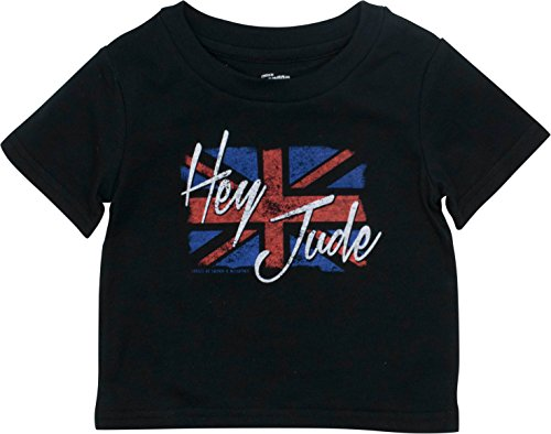 Rock Tees Baby (The Beatles Infant Baby Boys' Rock Band T-Shirt - Hey Jude, Black (24 Months))