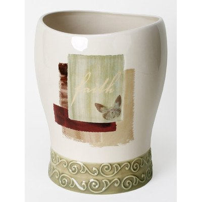 Saturday Knight Inspire Stoneware Wastebasket