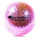 Best Ladies Golf Balls - Chromax High Visibility M1x Golf Balls 6-Pack, Pink Review