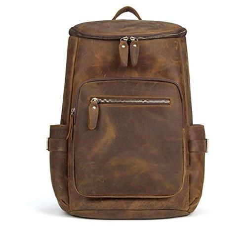 SHOUTIBAO Borsa da uomo in pelle/tracolla da uomo/borsa da viaggio, zaino grande capacità/valigie, andare a scuola/viaggio
