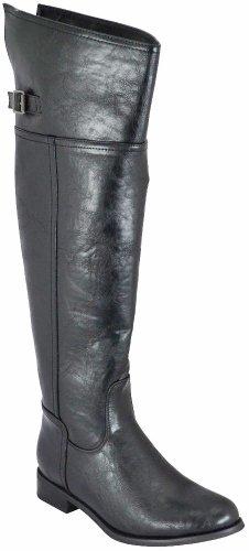 Breckelle's Women Rider-82 Boots,Black,5.5 (Boots Women Combat Breckelles)