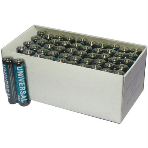 UPG D5323/D5923 Super Heavy-Duty Battery Value Box (AAA; 50 pk) (D5323/D5923) (Duty Value Battery Box Heavy)