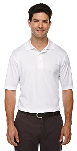 Core 365 Men's Origin Performance Piqué Polo, XL, White 701 ()
