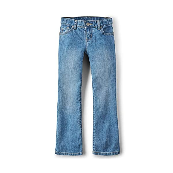 The Children's Place Girls' Bootcut Jean