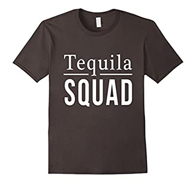 Tequila Squad T-Shirt Funny Goals Club Drinking Shots Team