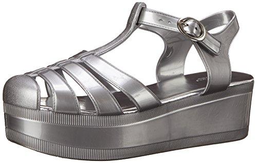 Wanted Shoes - Sandalias de vestir para mujer plateado plata plata