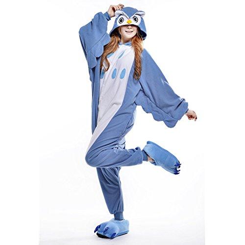 Adulte L Déguisement Amurleopard Vêtements Animal Costume Onesie Hibou Pyjama Unisexe Combinaison Pingouin Nuit PHqzRwSq