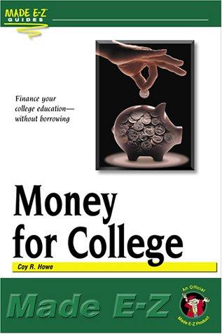 Money for College (Made E-Z Guides)