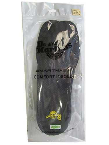 Price comparison product image Dr. Martens Men's Comfort Insoles,Gray,10 M UK / 11 D(M) US