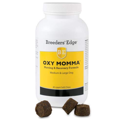 Revival Animal Health Breeders' Edge Oxy Momma - 40 Ct. Chews & Treats for Medium & Large Dogs