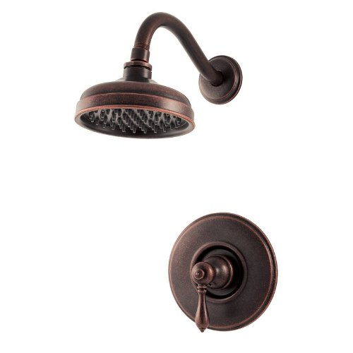 Price Pfister Marielle Trim Shower (Pfister Marielle 1-Handle Shower Only Trim in Rustic Bronze)