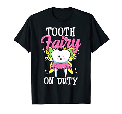 Tooth Fairy Costume Dental Office  T-Shirt
