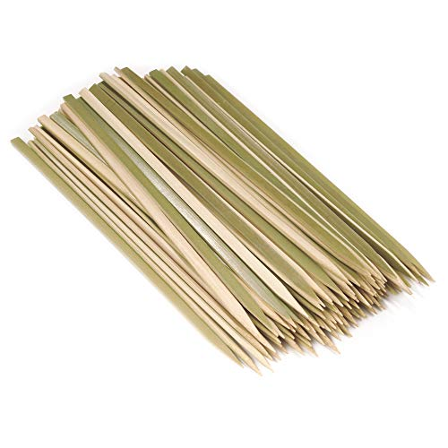 Flat Bamboo Skewers, 11.8 inch