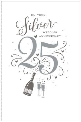 9th Silver Wedding Anniversary 9 Years Together new greetings card