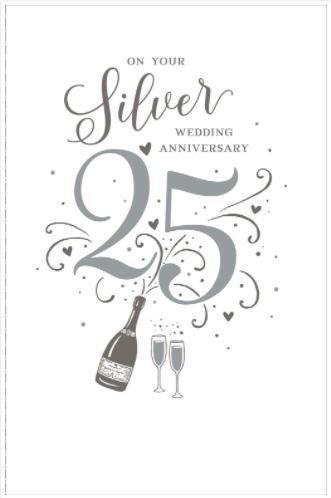 Amazon.com: 25 aniversario de boda de plata 25 años juntos ...