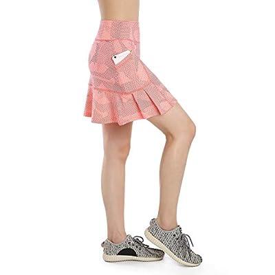 Annjoli Womens Skort Active Athletic Skirt for Running Tennis Golf Workout Sports Skorts: Clothing